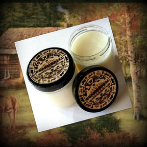 Beard Balm - Tamer - Conditioner - Men - All Natural Leave In Conditioner - Free U.S. Shipping - Cedarwood scented - 4 oz