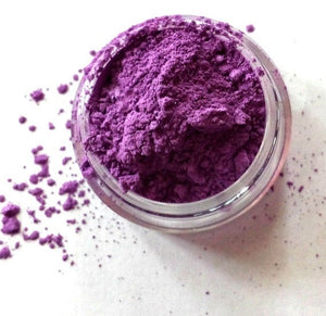 "Purple Shimmer Eye Shadow - ""Pansy"" - Mineral Makeup - Eyeshadow - Free U.S. Shipping"