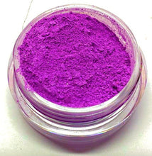 "Load image into Gallery viewer, Bright Purple Shimmer Eye Shadow - Neon Purple - ""Grape Popsicle"" - Free U.S. Shipping - Mineral Makeup - Eyeshadow"