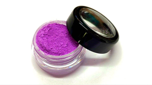 Bright Purple Shimmer Eye Shadow - Neon Purple -