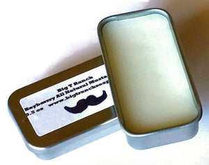 Mustache Wax - Tamer - Facial Hair Styler - Free U.S. Shipping - Conditioner - Men - Bayberry or Unscented - 0.5 oz