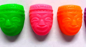 Soap - Luau - Tiki Mask - Tropical - Party Favors - Choose Scent and Colors
