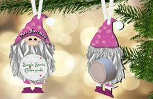 Load image into Gallery viewer, Gnome Coffee/Hot Cocoa Pod Holder Ornament, Personalized, Gnome Gift, Teacher Gift, Gift for Neighbors, Secret Santa, Co-worker Gift