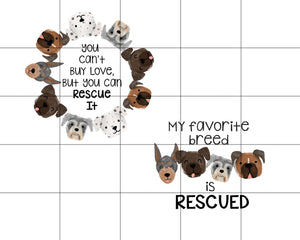 Rescue Dog Ceramic Car Coasters, Set of 2, Dogs Car Coaster, Sandstone Car Coaster, Rescue Dogs, Dog Gifts, Dog Lover, Dog Owner, Pet Gift