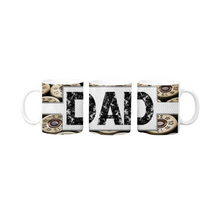 Load image into Gallery viewer, Copy of Buck Deer Fish Camo Personalized Coffee Mug - Hunter, Hunting, Fishing, Fathers Day Mug, Personalized Mug, Coffee Mug for Guys, Father's Day