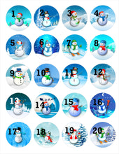 Load image into Gallery viewer, Stethoscope Badge Reel ID Tag Snowman Personalized, Winter Nurse Stethoscope Tag, Teacher Name Badge Reel, RN, CNA, Nursing Student Gift