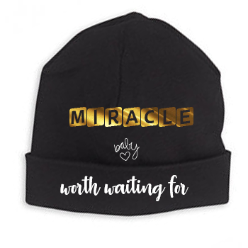 I Am A Miracle Created By God Onesie & Hat