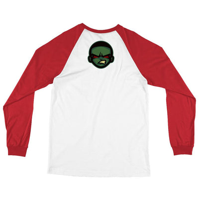 Game or Die Long Sleeve Baseball T-Shirt