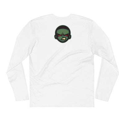 Game or Die Long Sleeve Fitted Crew