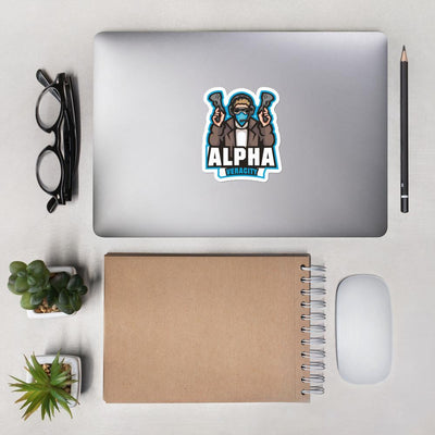 Alpha Veracity Bubble-free stickers