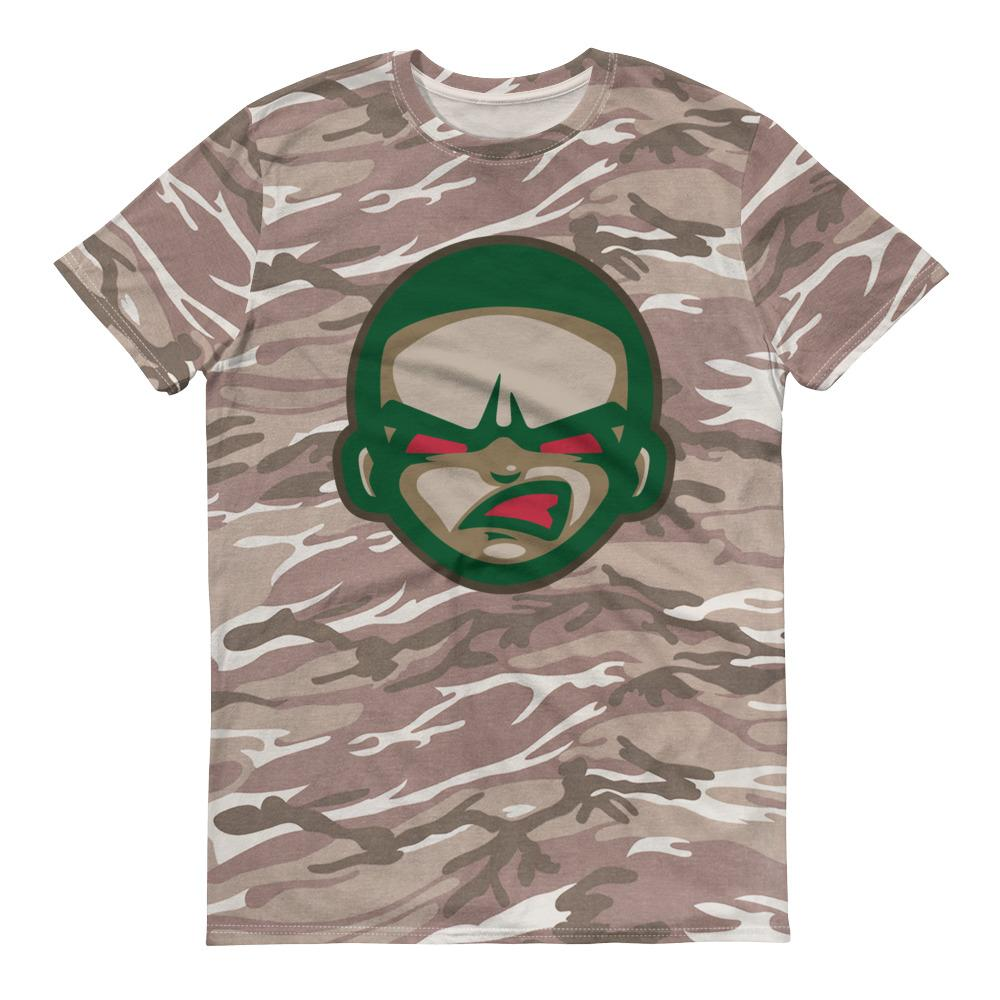 G.F.E Short-sleeved camouflage t-shirt