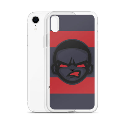 Game Face iPhone Case