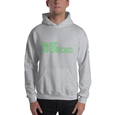 Dark Android Hooded Sweatshirt