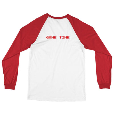 GAME TIME Long Sleeve Baseball T-Shirt