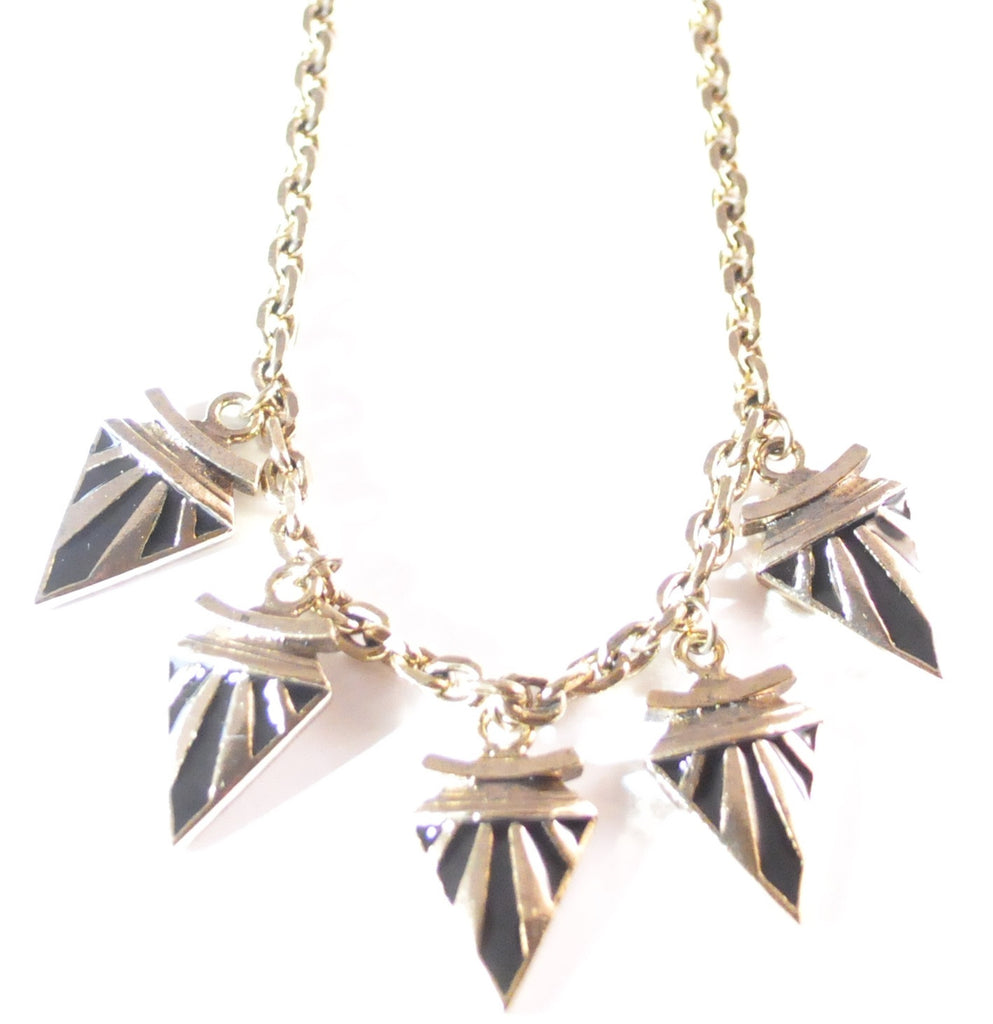 Deco Arrow Necklace