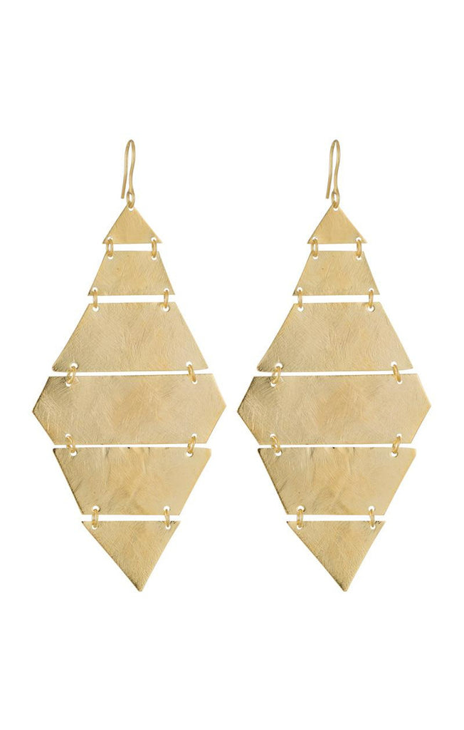 Diamond Canary Earrings in Gold