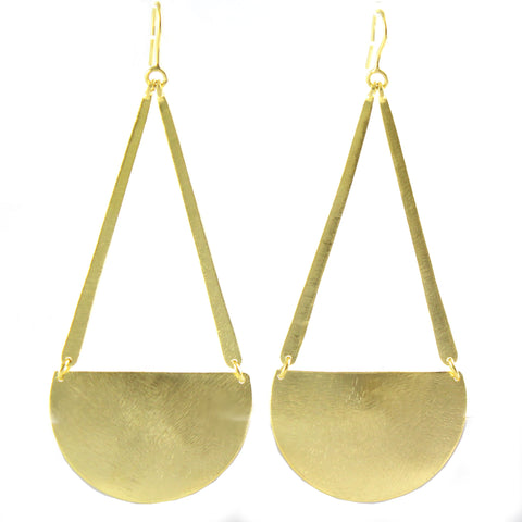 Meeko Earrings in Gold