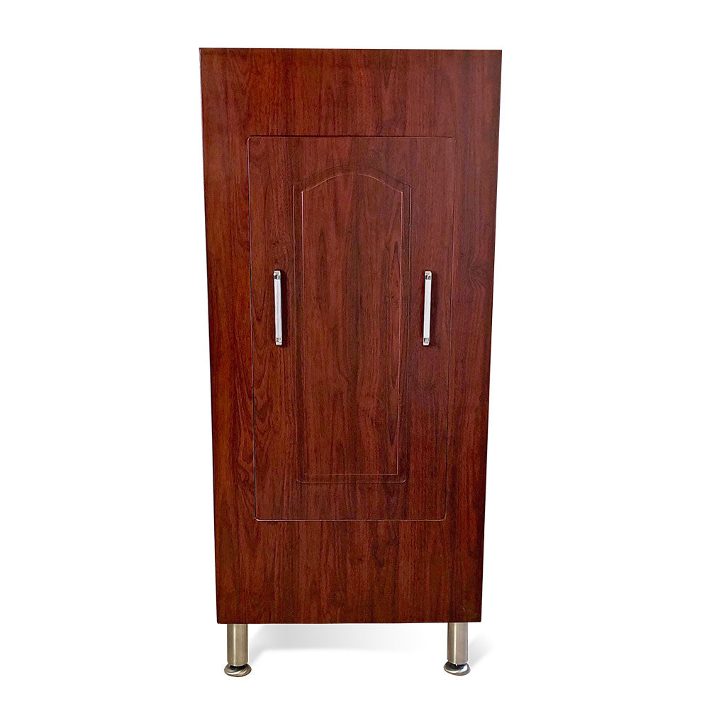 the armoire cherry finish