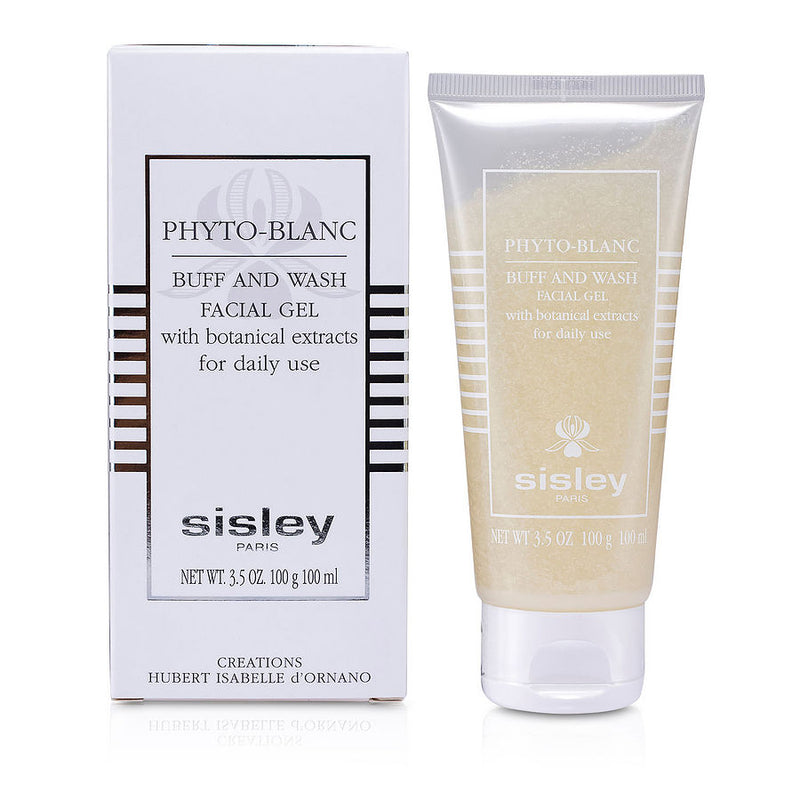 Sisley Phyto- Blanc Buff & Wash Facial Gel (tube)--100ml-3.3oz
