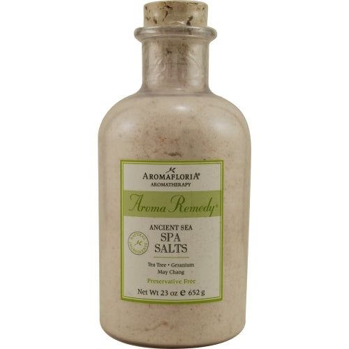 Aromafloria Ancient Sea Spa Salts 23 Oz Blend Of Tea Tree, Geranium, And May Chang (preservative Free) By Aromafloria