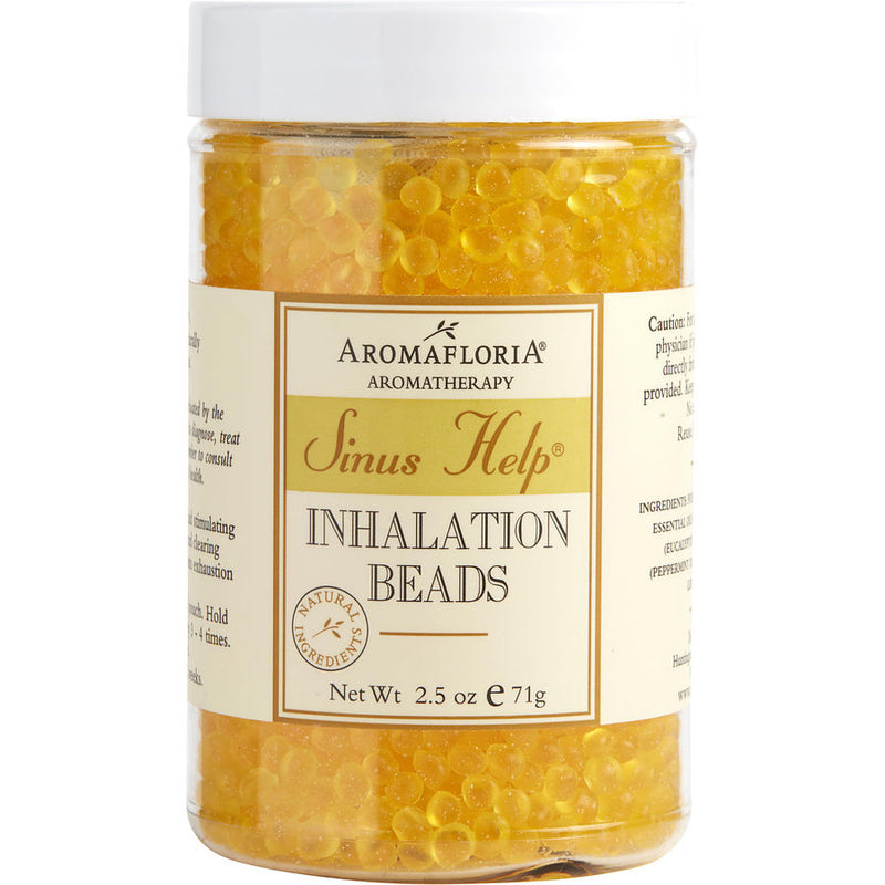 Aromafloria Inhalation Beads 2.5 Oz Blend Of Eucalyptus, Peppermint, Lemongrass By Aromafloria