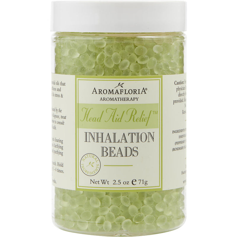 Aromafloria Inhalation Beads 2.5 Oz Blend Of Tea Tree, Rosemary, And Peppermint By Aromafloria