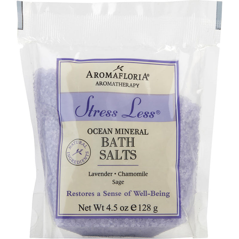 Aromafloria Bath Salt Packet 4.5 Oz Blend Of Lavender, Chamomile, And Sage By Aromafloria