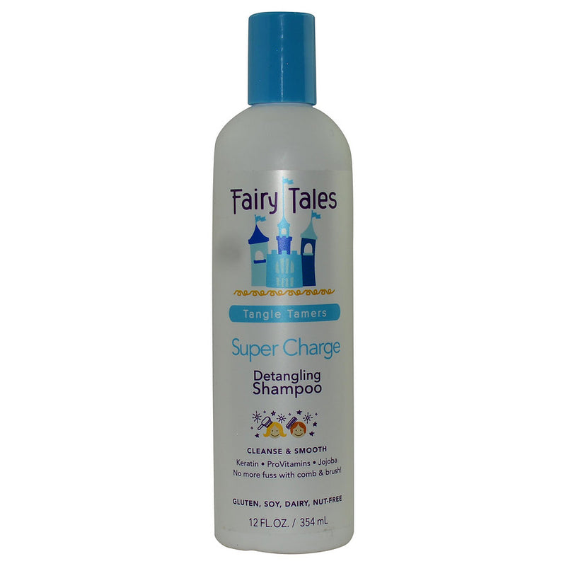 Tangle Tamers Super Charge Detangling Shampoo 12 Oz
