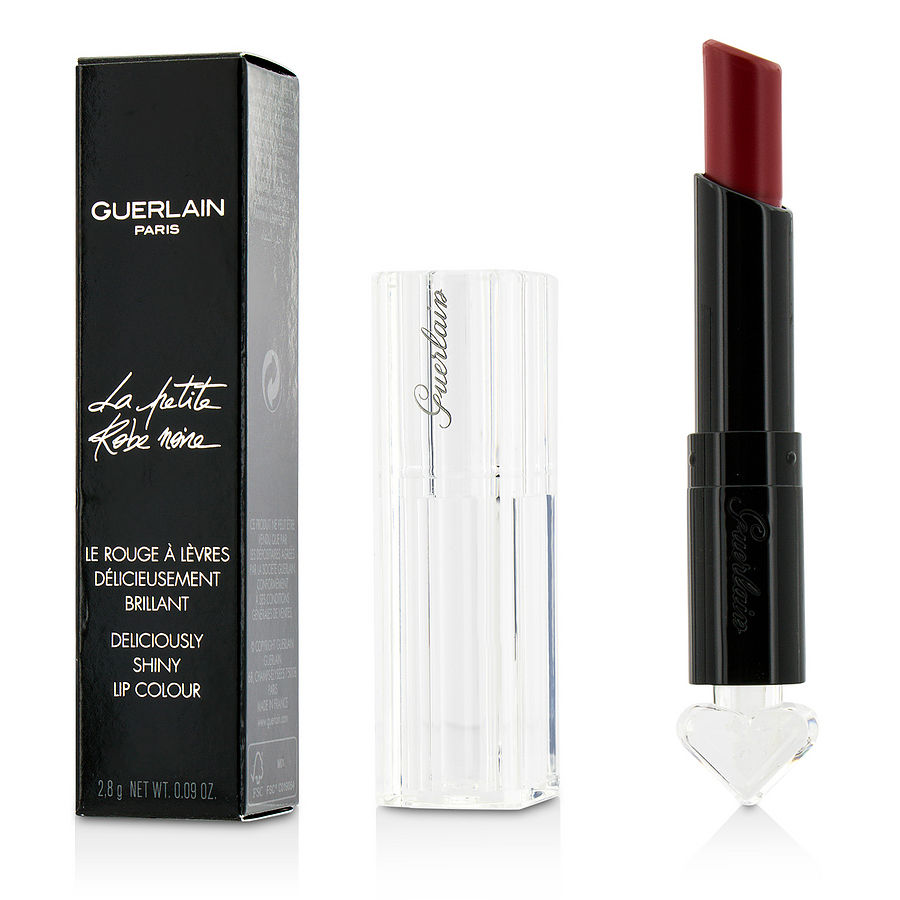 Guerlain La Petite Robe Noire Deliciously Shiny Lip Colour - #022 Red Bow Tie --2.8g-0.09oz By Guerlain