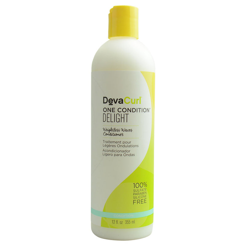Curl One Delight Weightless Waves Conditioner 12 Oz