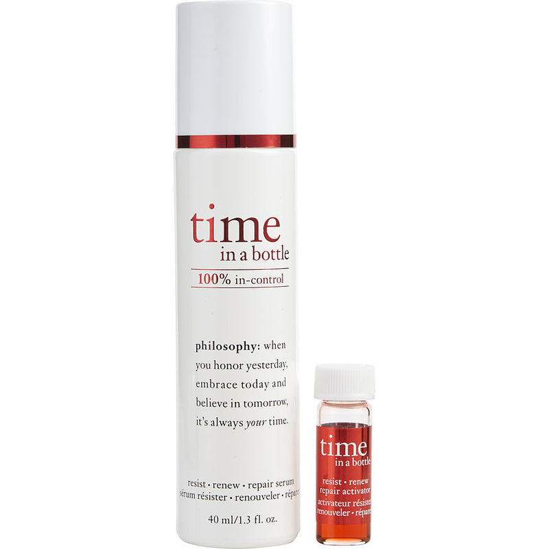 Time In A Bottle (daily Age-defying Serum) --40ml-1.3oz + Activador --2.8ml-.93oz