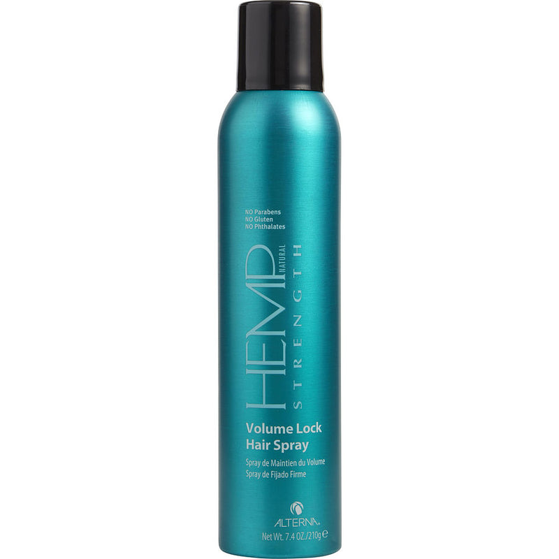 Hemp Color Hold Maximum Hold Volume Lock Hair Spray 7.4 Oz