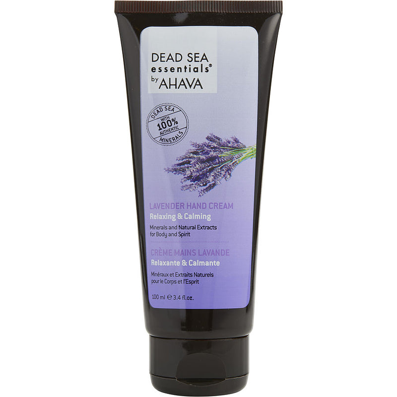 Dead Sea Essentials Lavender Hand Cream --100ml-3.4oz