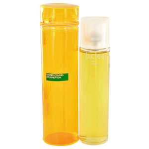 Be Clean Soft by Benetton Eau De Toilette Spray 3.4 oz for Women