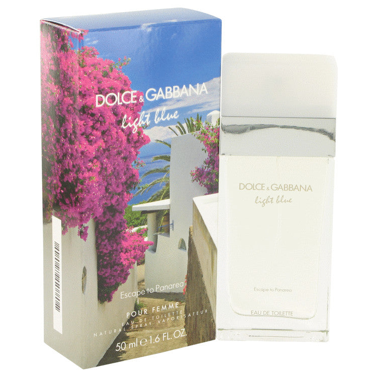 Light Blue Escape to Panarea by Dolce & Gabbana Eau De Toilette Spray 1.6 oz for Women