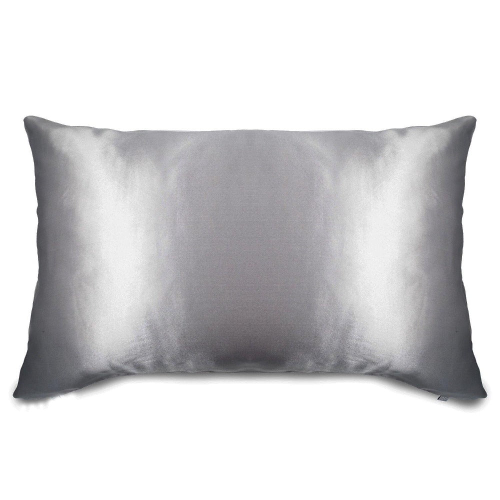 Mulberry silk pillowcase. Antibacterial silk infused with ionic silver for clear skin