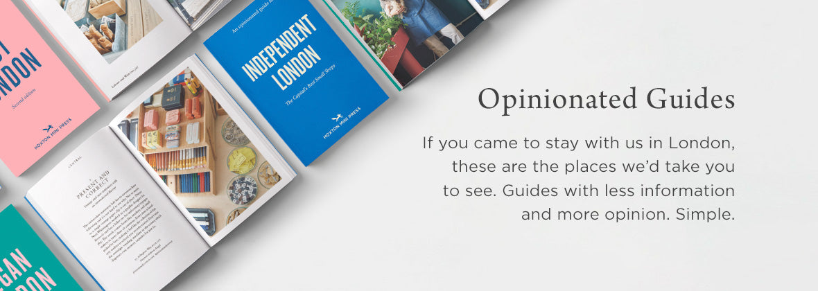 Opinionated London Guides