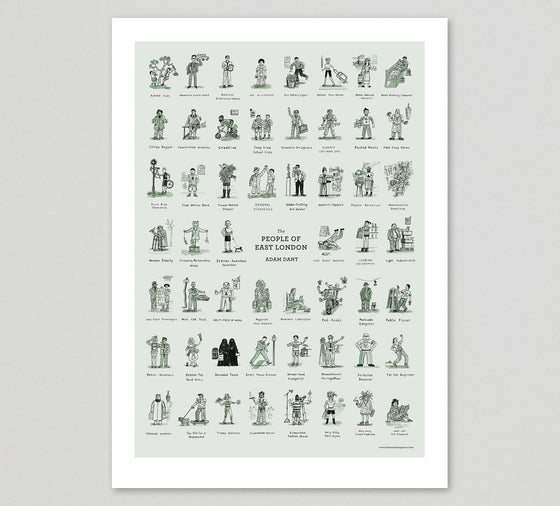 The People of East London PRINT - limited edition of 250