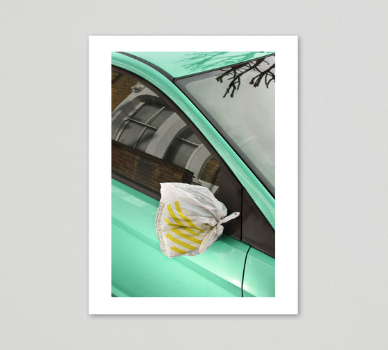 Ronni Campana Print 'A Badly Repaired Car' - limited edition of 25