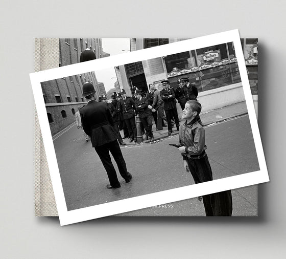 PRE-ORDER: Limited edition print (C) + signed book: 'Once Upon a Time in Brick Lane'