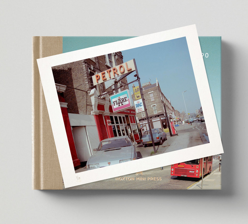 Limited edition prints + signed books: 'The East End in Colour 1980-1990'