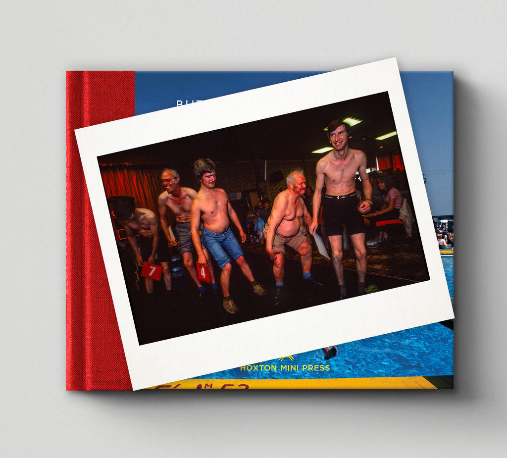 PRE-ORDER: Limited edition print (C) + signed book: 'Butlin's Holiday Camp 1982'