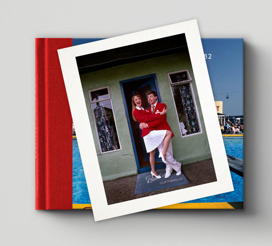 PRE-ORDER: Limited edition print (D) + signed book: 'Butlin's Holiday Camp 1982'