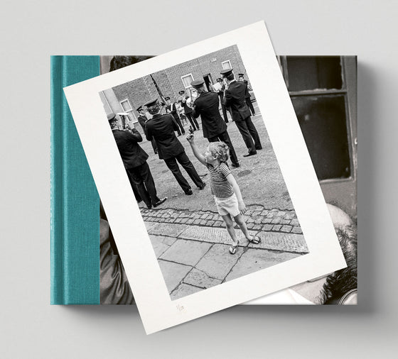 PRE-ORDER: Limited edition print (D) + signed book: 'Hackney Archive'