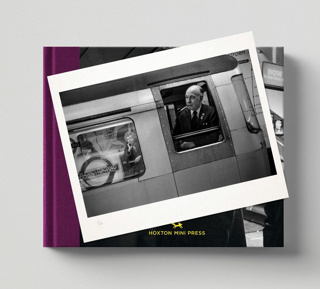 Limited edition prints + signed books: 'London Underground 1970-1980'