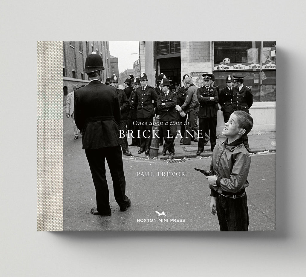 Limited edition print (B) + signed book: 'Once Upon a Time in Brick Lane'