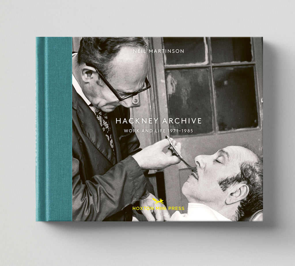 Limited edition print (B) + signed book: 'Hackney Archive'