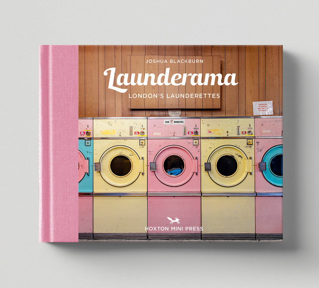 Limited edition print (B) + signed book: 'Launderama'