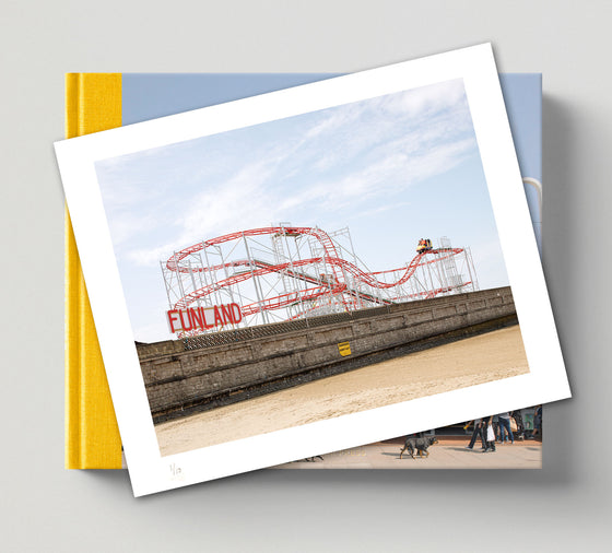 PRE-ORDER: Limited edition print (C) + signed book: 'Funland'