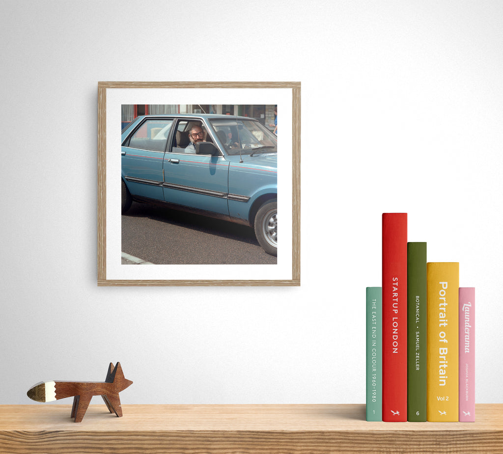 Chris Dorley-Brown Print 'Cortina Mk5 Crusader, Hackney, London 1987' - limited edition of 10
